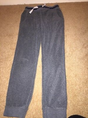 Mini Boden Boys Fleece Trousers. Age 9. Grey.