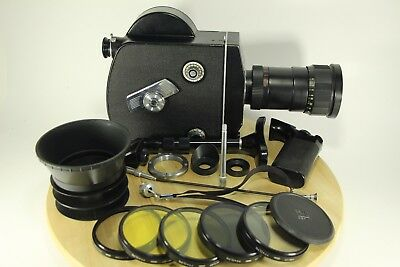 Good! SUPER 16mm RECENTERED LENS KRASNOGORSK-3 KMZ  METEOR-5-1 , K3, WITH SET!