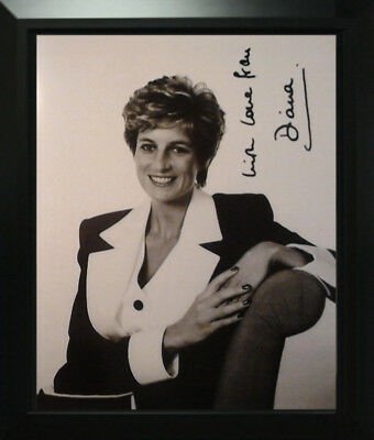 Lady Diana Spencer Orig Signed Photo Autograph Autografo Autogramm Signiert Foto