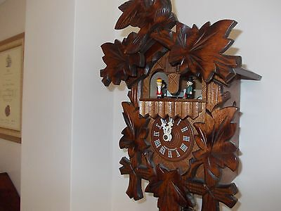 Superb Musical Cuckoo Clock...and fully functional