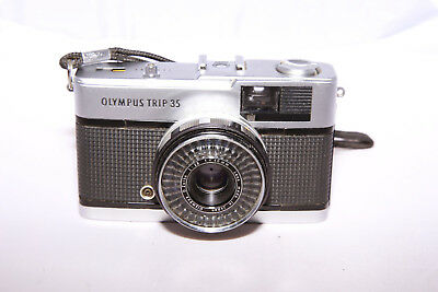 Olympus Trip 35 - 35mm Film Camera - CLA'd & Tested - Ships from Canada!