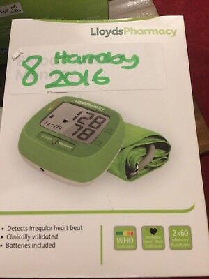 Digital Blood Pressure Monitor By Lloyds Pharmacy, New in sealed box