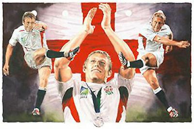 Leon Evans - Lionheart - Jonny Wilkinson England Rugby Union Print Only 642/850