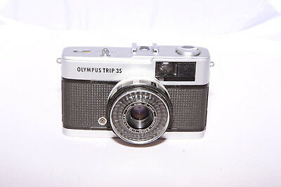 Olympus Trip 35 - 35mm Film Camera - CLA'd & Light Meter Works - From Canada!