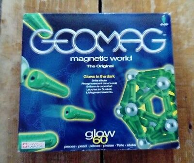 Geomag magnetic glow in dark Magnet magnetic play Boys Girls Christmas toy