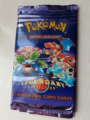 Pokemon WOTC Legendary Collection Booster Pack Sealed RARE