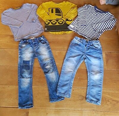 2 - 3 years boy Next bundle jumpers long sleeve tops and jeans