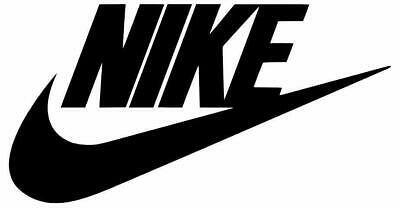 Air Nike Swoosh Logo Sticker Cut-Out Vinyl Decal for car vehicle window, door