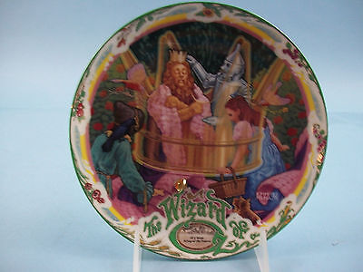 """Knowles Musical Moments Wizard of Oz """"If I Were King of the Forest"""" 1993 #15935A"""