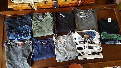 bundle JOB LOT of MENS T-SHIRTS & TOPS Large