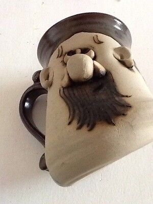 Character Pottery   Peter Petrie Signed 1970s Mug