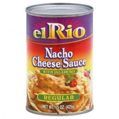 El Rio Regular Nacho Cheese Sauce with Jalapeno Peppers ~ 15 oz. ~ (4-PACK)