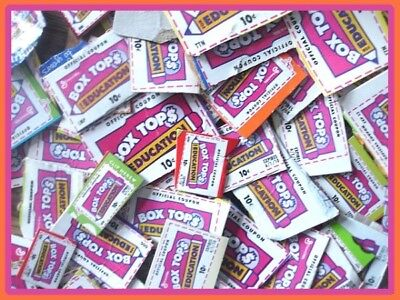 ~Monster Auction~ 500+ Box Tops For Education! All Trimmed No Expired 2018 Btfe