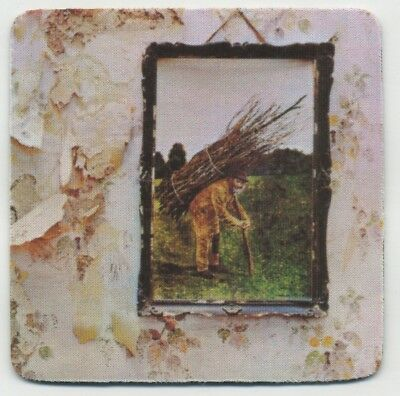 Led Zeppelin IV - 1971 Record Album Cover  COASTER - Rock and Roll