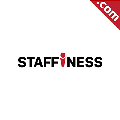 No Reserve: Staffiness.com - is A Cool Brandable Domain Name for Sale! Godaddy
