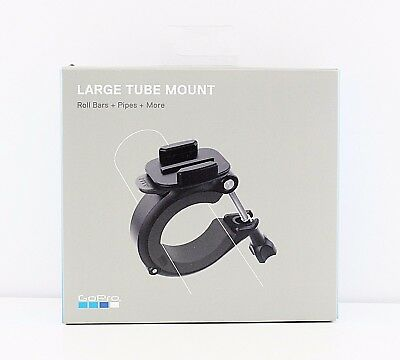 GoPro Large Mount AGTLM-001 Fits 1.4 to 2.5 Diam Tubes Roll bars Pipes -Open Box