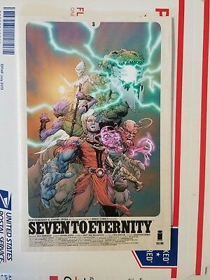 Seven to Eternity 3,4,5,6,8 all 1st prints NM (lot of 5) FREE Priority Ship