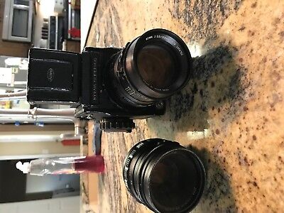 Kowa Super 66 with 2 lens