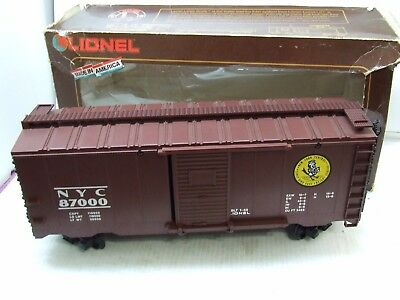 Lionel G Scale Nyc Boxcar 8-87000 In The Box New