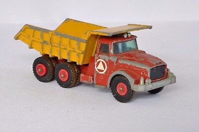 Matchbox Super Kings Scammell Contractor (RARE/UNCOMMON RED WHEELS?)