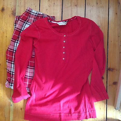 Blooming Marvellous maternity pyjamas size 12 red