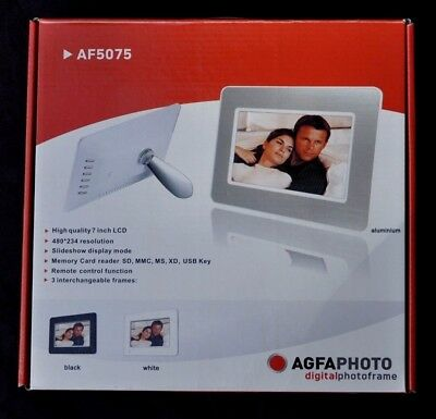 Digital Photo Frame AGFAPHOTO AF5075 good condition, barely used