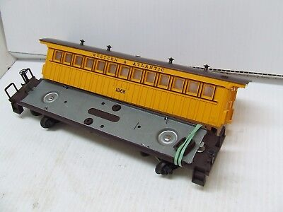 Lionel Post War Part Lot 1865 Passenger Car 3 H