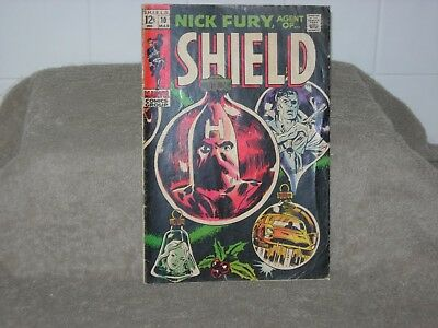Marvel Comics Nick Fury, Agent of Shield Vol. 1 #10  1968