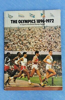 The Olympics 1896-1972 Esso sticker book sport Appeal By Ross McWhirter