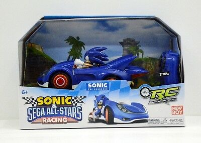 Sonic and Sega All Stars Racing Remote Controlled Car Sonic The Hedgehog 611 NEW