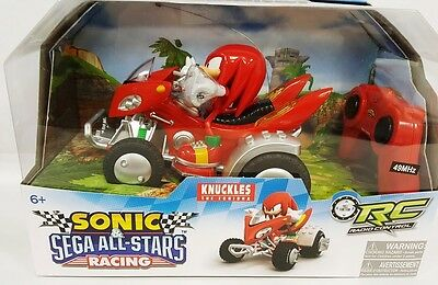 Sonic and Sega All Stars Racing Remote Controlled Car Knuckles with Light 612