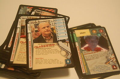 X Files CCG 101361 Complete Card Set