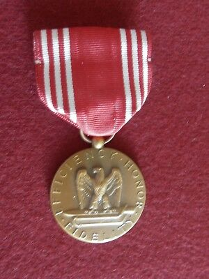 Named WWII issue Army Good Conduct Medal