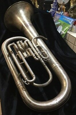 Vintage Baritone Horn 1925 Made by C. G. Conn Elkhart IND USA