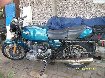 BMW R65 1981, W Reg, Blue, Mileage 37k, V5C, SORN, no MOT, condition fair