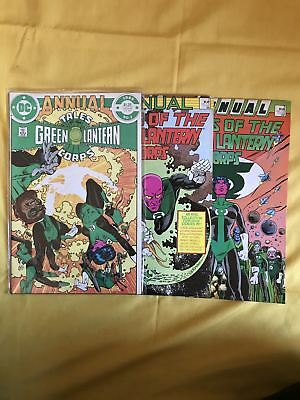 Complete Set 3 Tales of the Green Lantern Corps Annual (1985) 1 2 3 VF Very Fine