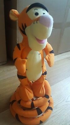 Fisher Price Turbo Tail Bouncing Singing Tigger - Fantastic Condition