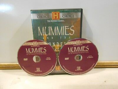 Mummies and the Wonders of Ancient Egypt DVD 2 Disc Set The History Channel