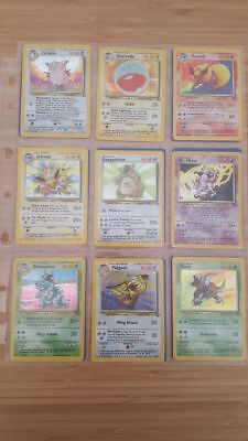 Pokemon Card Complete Jungle Set 64/64 RARE WOTC 1999 NM-Played Holo Collection