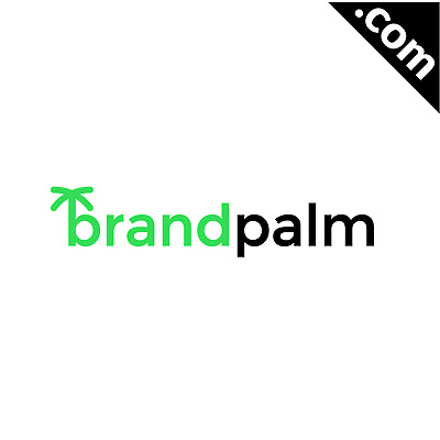 No Reserve: BrandPalm.com - is A Cool Brandable Domain Name for Sale! FREE LOGO