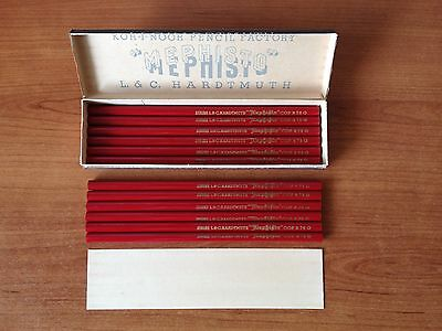 "Vintage Copying Pencils L&C Hardtmuth ""MEPHISTO"" 73 G : Czechoslovakia"
