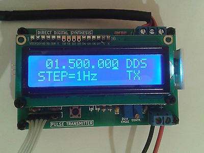PWM with DDS Class D AM Transmitter Assembled and Tested.