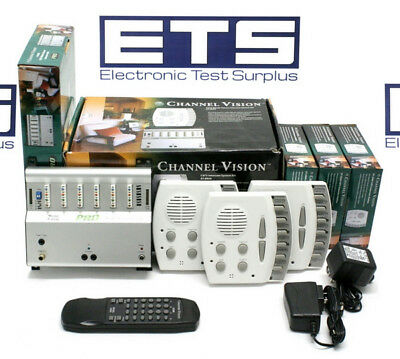 Channel Vision Pro P-0934 CAT 5 Whole House Intercom System Kit P-0930 ST-2000