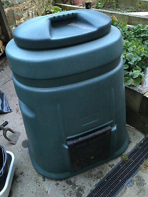 Green compost bin. no reserve auction. collection only.