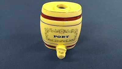 Vintage Collectable Wade Pottery Port Barrell