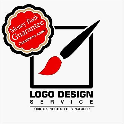 Professional Custom & bespoke business logo design service unlimited revisions
