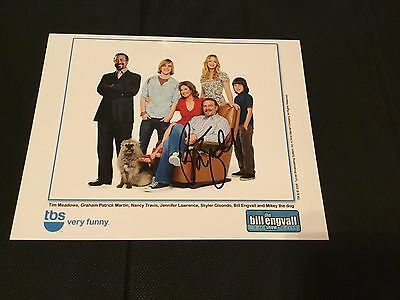 Bill Engvall Autographed 8x10 photo, from the Bill Engvall Show
