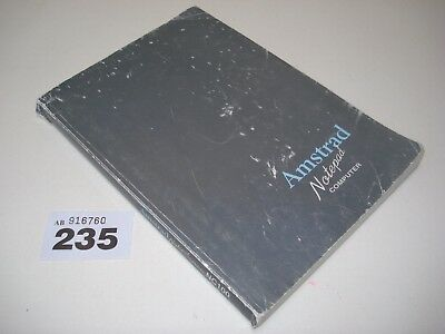 Amstrad Notepad Nc100 Notebook Computer User Manual Nc 100