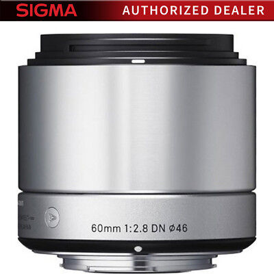 Sigma 60mm F2.8 EX DN ART Lens for Sony E-Mount (Silver)