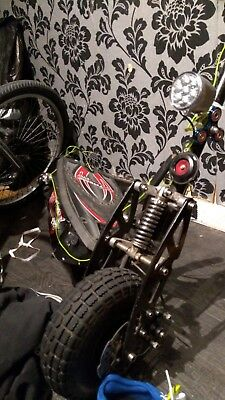 1000w 48v adults scooter + 36v frame + chopper project job lot ! Lots of spares